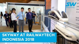 SkyWay on RailwayTech Indonesia 2018